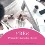 free printable character sheets
